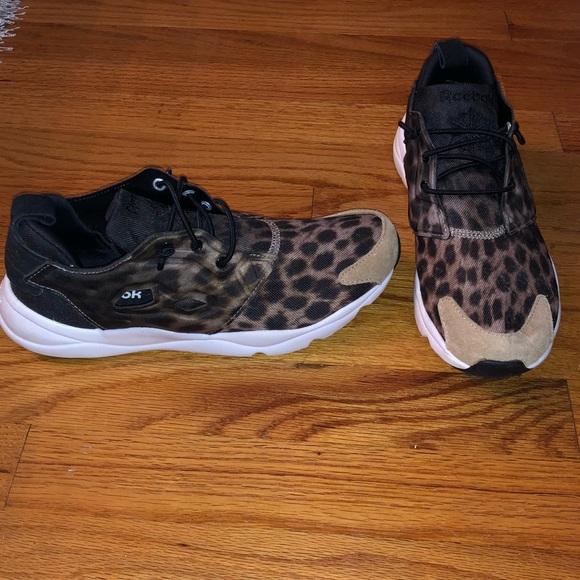 cc8c25e75271f5 Reebok leopard print sneakers. M 5bc0f7a6bb7615e1d6f67b04